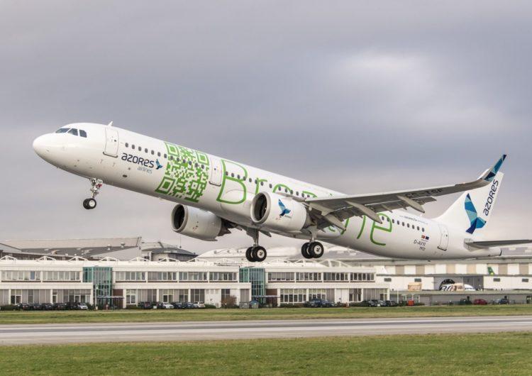 El Airbus A321LR completó un nuevo récord de distancia recorrida