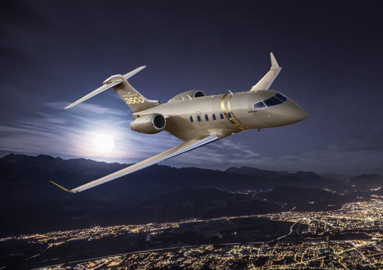 Presenta Bombardier nuevo Challenger 3500