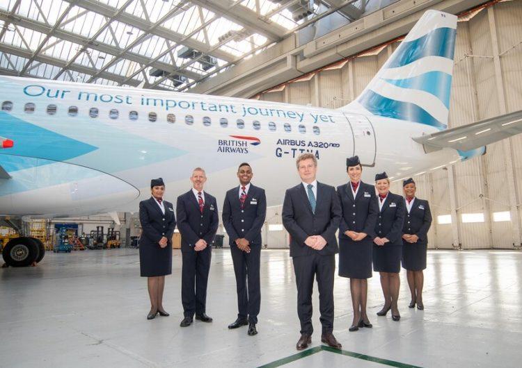 British Airways lanza un nuevo programa de sostenibilidad