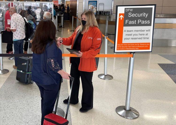 """El Aeropuerto DFW lanza """"DFW Security Fast Pass"""""""
