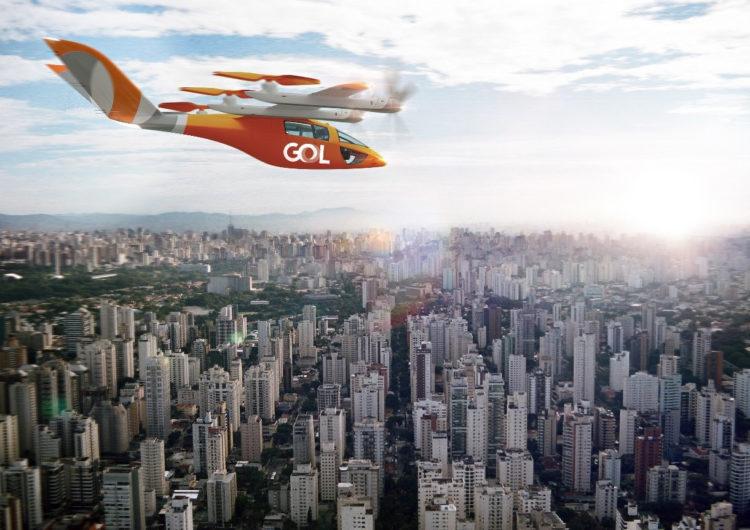 La brasileña Gol anuncia la compra de 250 aeronaves eVTOL
