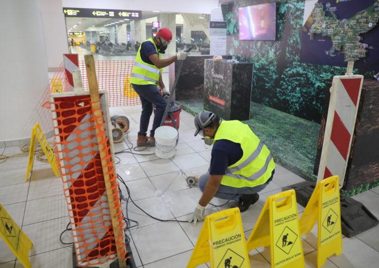 Aeropuerto Internacional de Tocumen ejecuta obras de mejoras y modernización en Terminal 1
