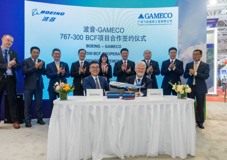 Boeing to Add 767-300BCF Conversion Lines at GAMECO to Meet Strong Market Demand