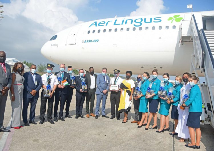 Barbados becomes Aer Lingus' first Caribbean route
