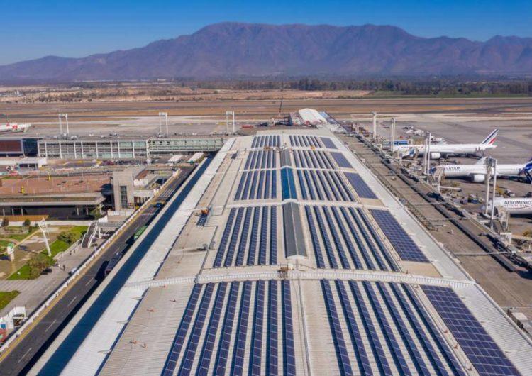 Aeropuerto de Santiago podría ser el primero de la región en utilizar hidrógeno como fuente de combustible