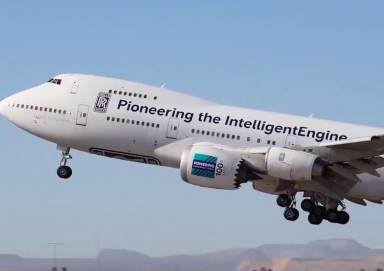 Rolls-Royce, Boeing y World Energy realizan con éxito un vuelo de prueba con combustible sostenible