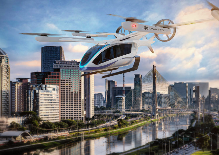 Eve y Avantto desarrollarán operaciones de Urban Air Mobility en Brasil y América Latina