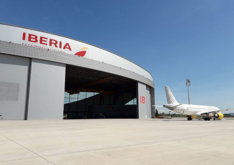 Iberia Mantenimiento y Vueling amplían su contrato de motores, componentes y revisiones mayores