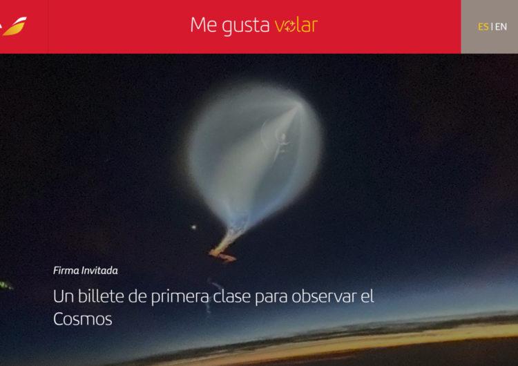 Iberia reestrena blog Me gusta volar
