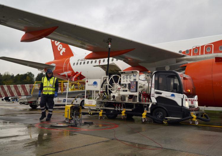 El combustible de aviación sostenible debuta en Londres-Gatwick