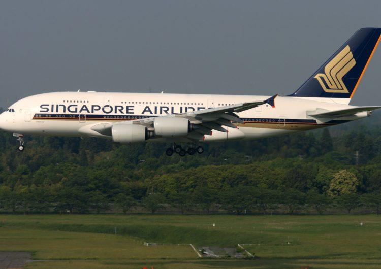 Singapore Airlines amplía su flota con 12 nuevos aviones A380