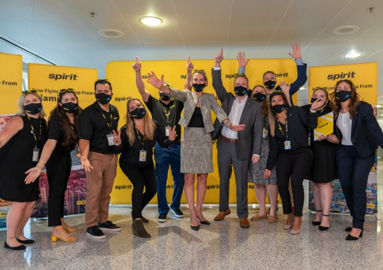 Spirit Airlines Launches First Flights from MIA, Celebrates with Ticket Giveaways