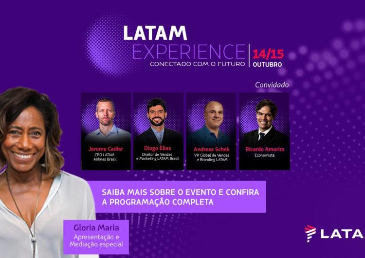 Futuro das viagens e do turismo serão debatidos por especialistas no evento digital e gratuito LATAM Experience