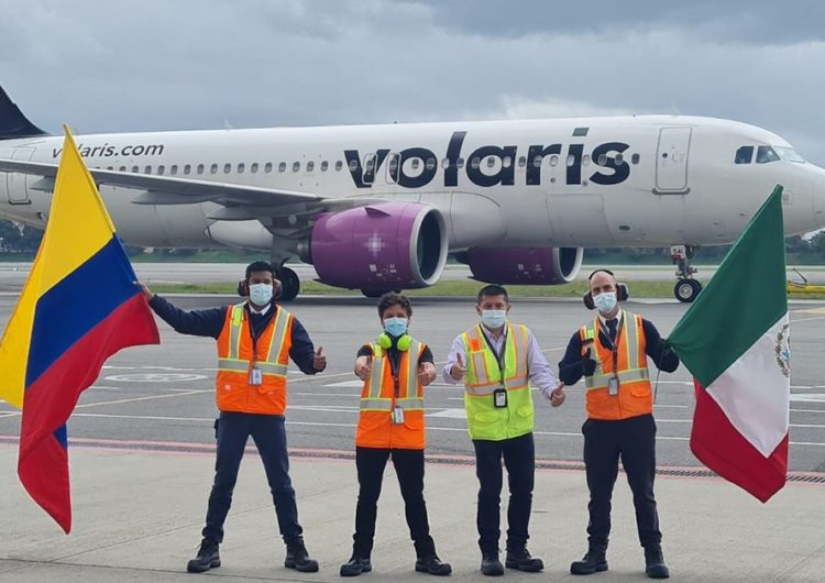 Volaris, aerolínea de ultra bajo costo, inició operaciones en Colombia